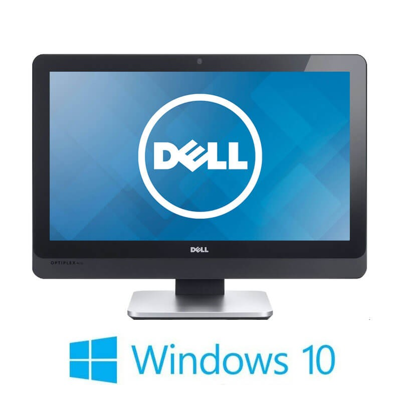 All-in-One Touchscreen Dell OptiPlex 9010, i7-3770S, 256GB SSD, Full HD, Win 10 Home
