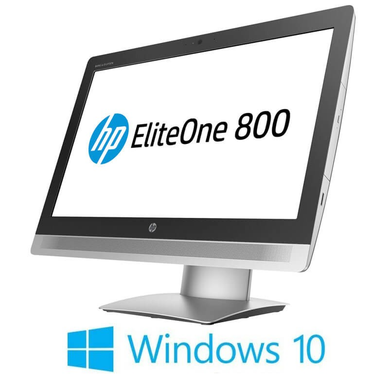 All-in-One Touchscreen Refurbished HP EliteOne 800 G2, i5-6500, Full HD IPS, Win 10 Home