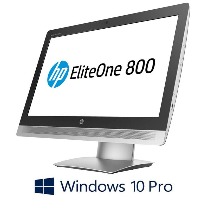 All-in-One Touchscreen Refurbished HP EliteOne 800 G2, i5-6500, Full HD IPS, Win 10 Pro