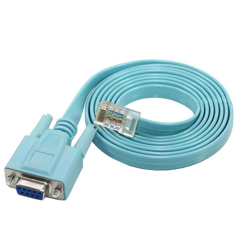 Cablu Consola Serial DB9 - Retea RJ-45