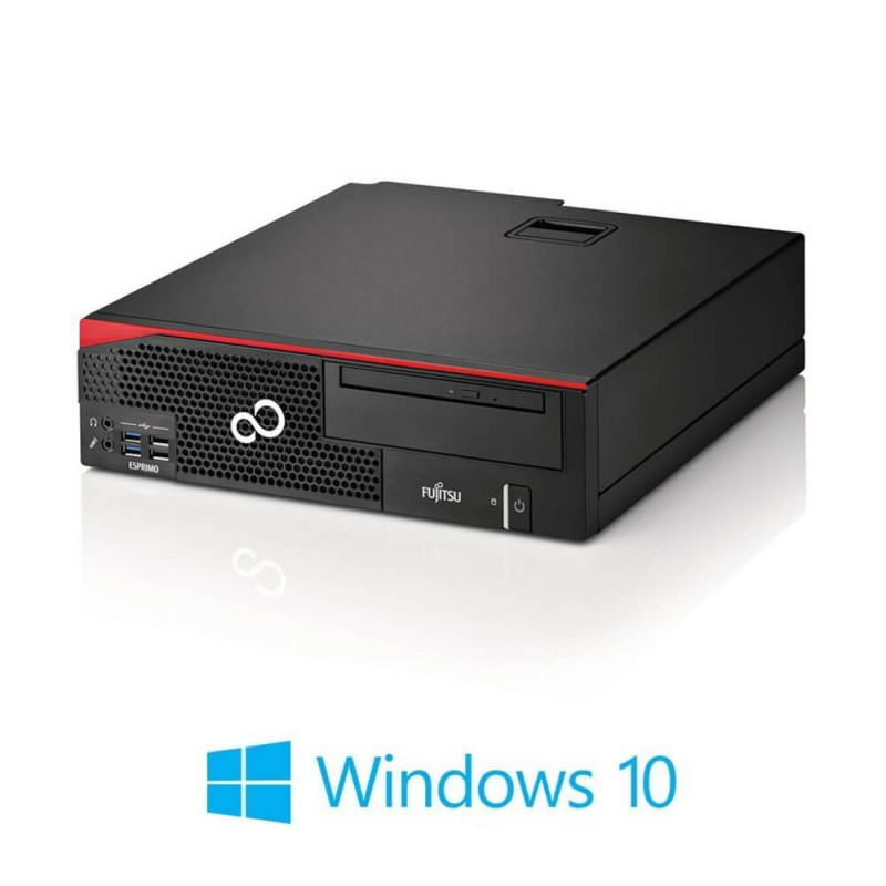 Calculatoare Fujitsu ESPRIMO D556, Quad Core i5-6500, 8GB DDR4, 128GB SSD, Win 10 Home