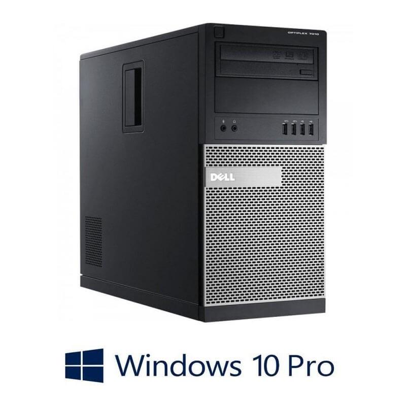 Calculator Dell OptiPlex 7010 MT, Quad Core i5-3470, 120GB SSD NOU, Win 10 Pro