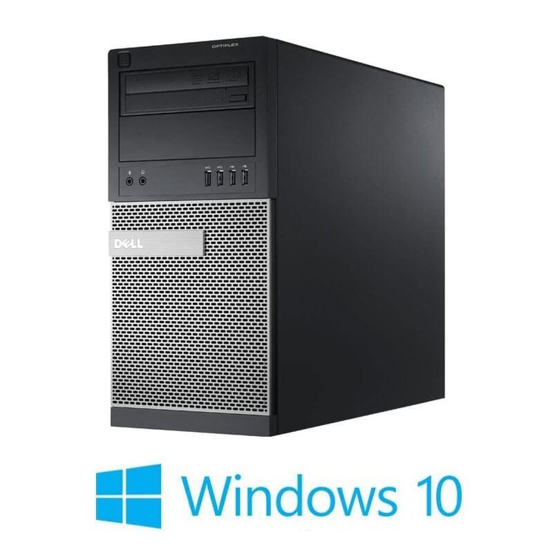 Calculator Dell OptiPlex 7020 MT, Intel i3-4160, 128GB SSD, Windows 10 Home