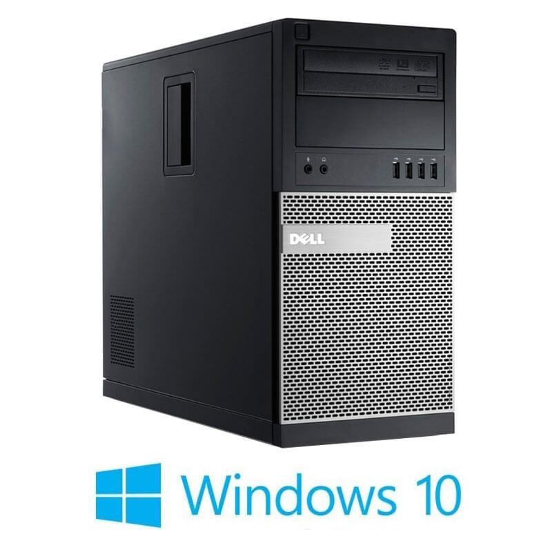 Calculator Dell OptiPlex 790 MT, Quad Core i5-2400, 120GB SSD NOU, Win 10 Home