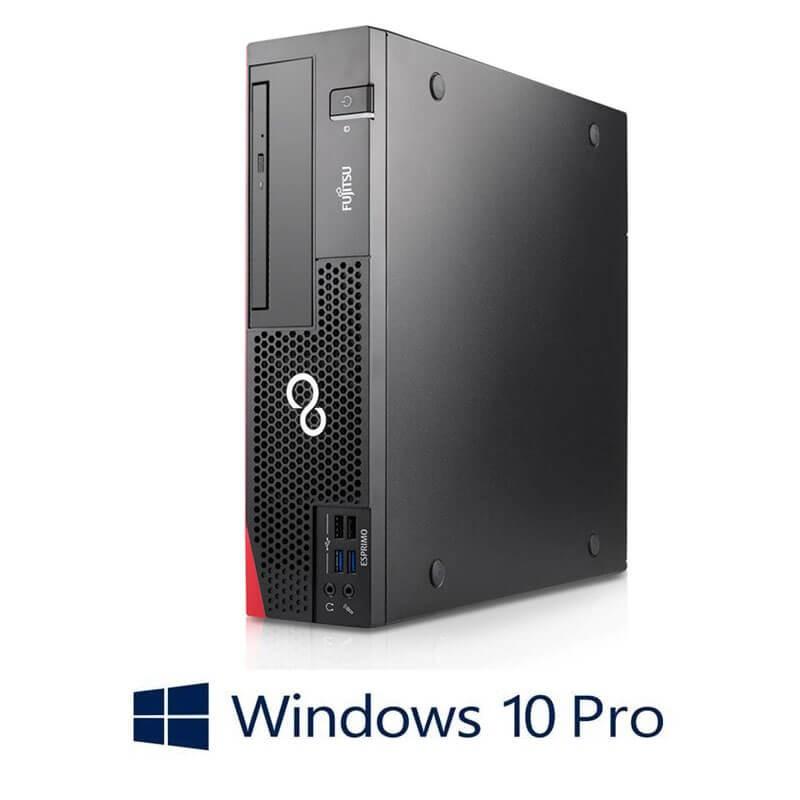 Calculator Fujitsu ESPRIMO D757, Quad Core i5-6600, 512GB SSD, Win 10 Pro