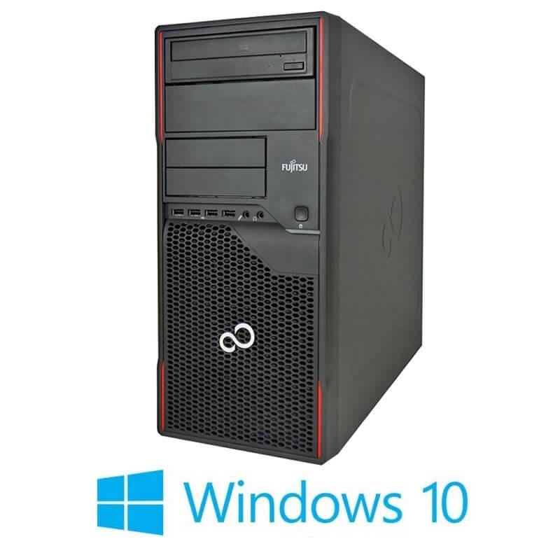 Calculator Fujitsu ESPRIMO P910, Quad Core i5-3470, GeForce 605 DP, Win 10 Home