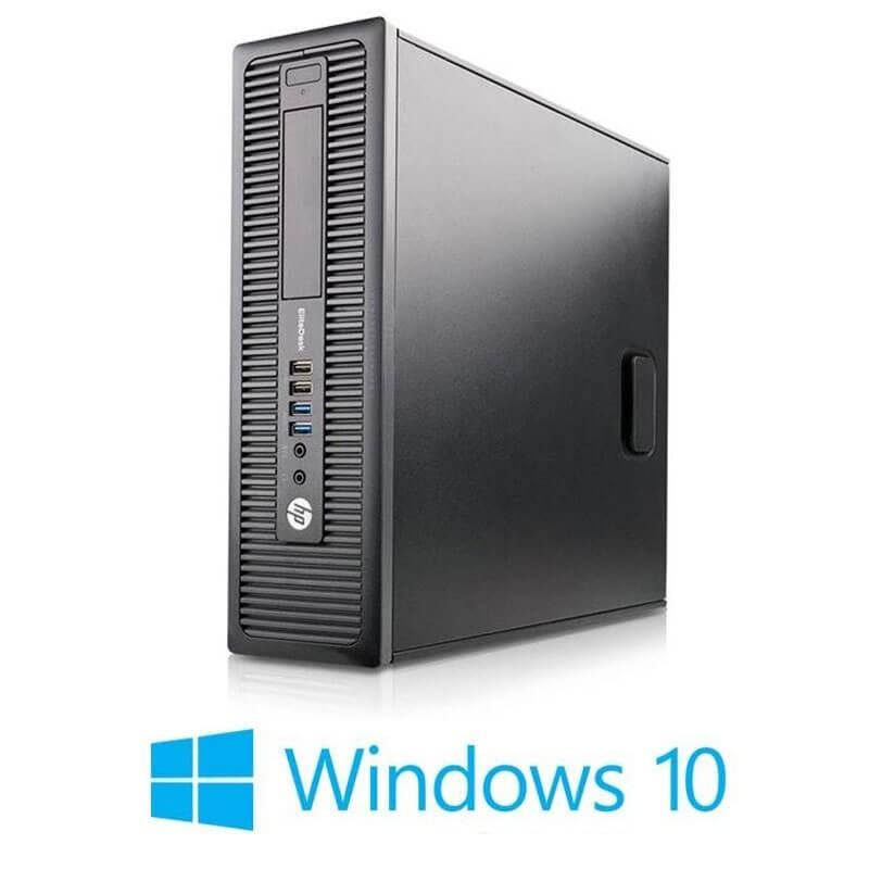 Calculator HP EliteDesk 800 G1 SFF, Quad Core i7-4790K, 120GB SSD, Win 10 Home