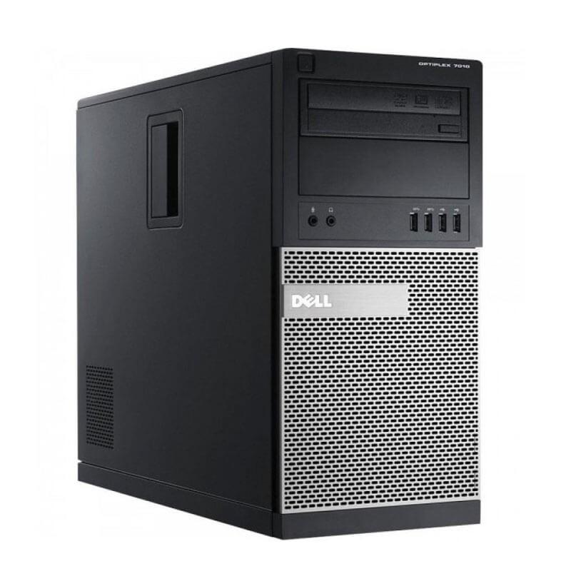 Calculator second hand Dell OptiPlex 7010 MT, Intel Quad Core i5-3470, 120GB SSD NOU