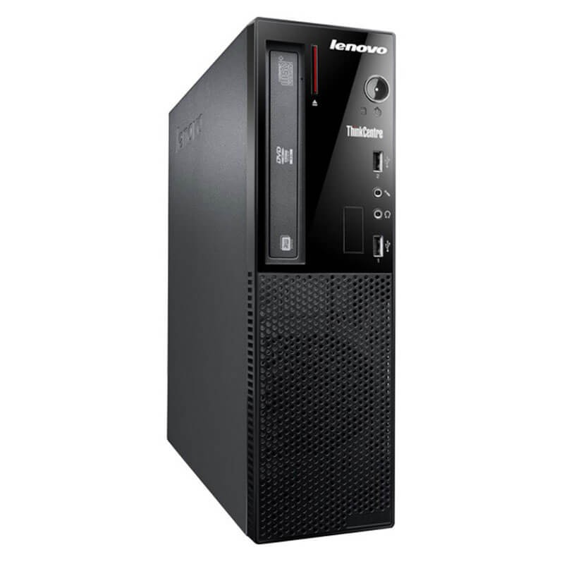 Calculator second hand Lenovo ThinkCentre E73 SFF, Quad Core i5-4460S, 750GB HDD