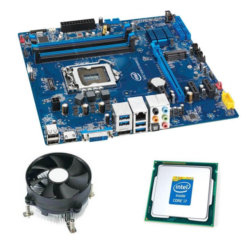 Kit Placi de baza Intel DH87RL, Intel Quad Core i7-4770, Cooler