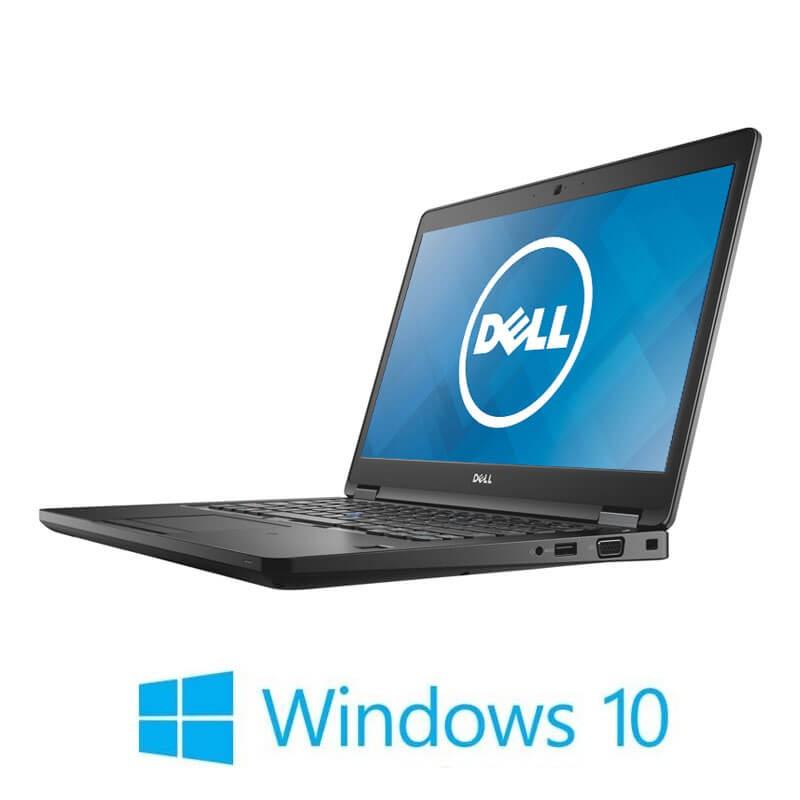 Laptop Dell Latitude 5480, Intel i5-7200U, 256GB SSD, 14 inci, Webcam, Win 10 Home