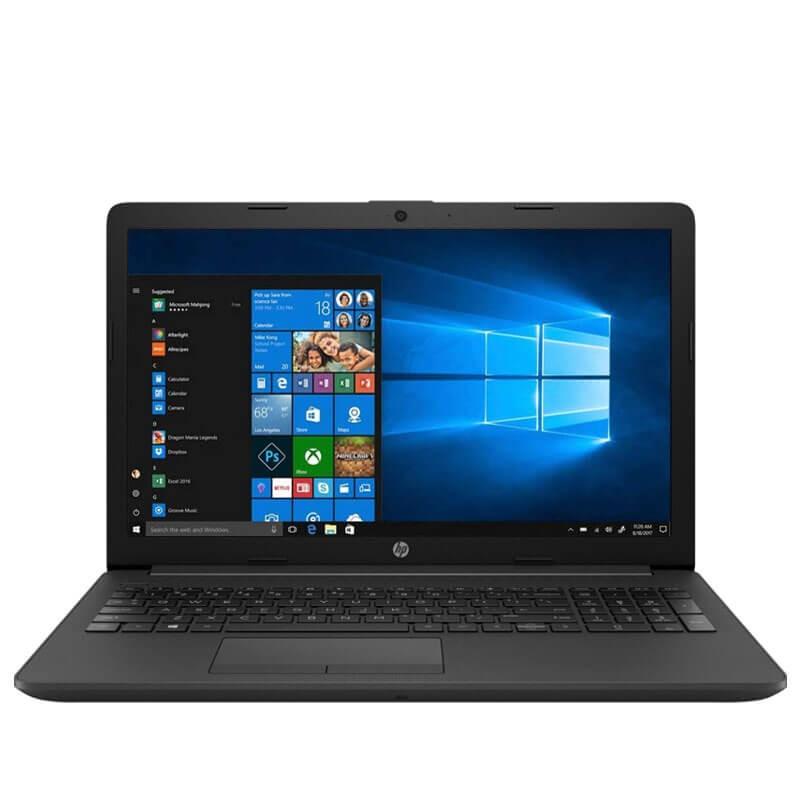 Laptop second hand HP 255 G7, AMD Ryzen 3 2200U, 256GB SSD M.2, 15.6 inci, Webcam