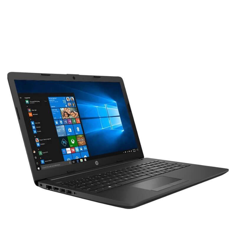 Laptop second hand HP 255 G7, AMD Ryzen 3 2200U, 8GB DDR4, SSD, 15.6 inci, Webcam