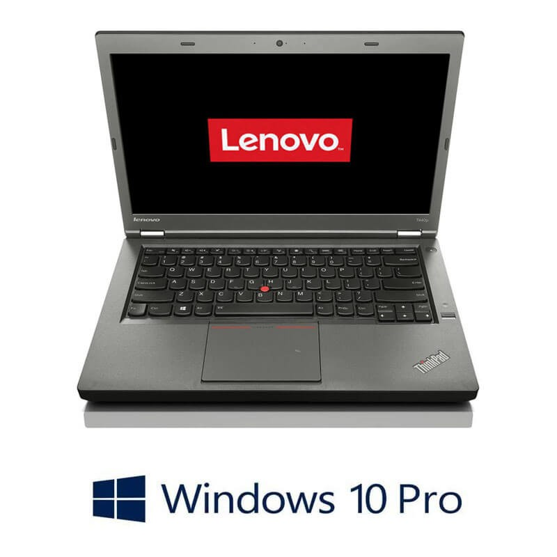 Laptopuri Refurbished Lenovo ThinkPad T440p, Intel Core i7-4600M, Win 10 Pro