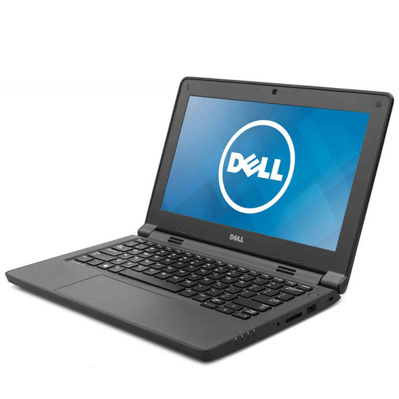 Laptopuri second hand Dell Latitude 3150, Intel Quad Core N3540, 128GB SSD M.2, Webcam, Grad B