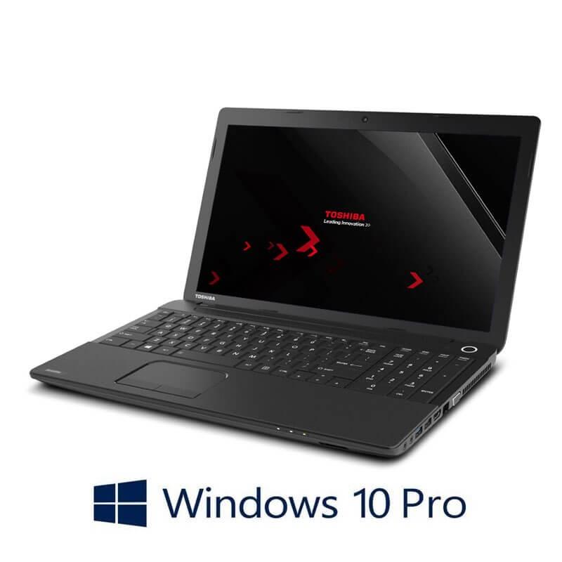 Laptopuri Toshiba Satellite Pro C50-A-1J1, i3-3110M, 240GB SSD, Webcam, Win 10 Pro