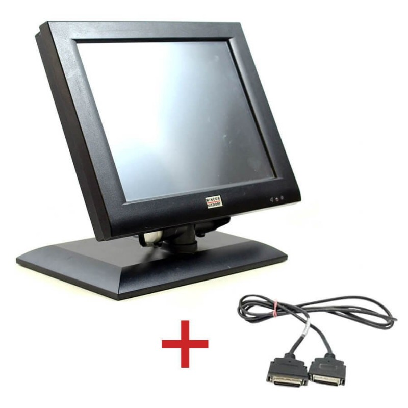 Monitoare Touch BA73A-2, IR-Touch, 15 inci + Cablu Special Plink Wincor