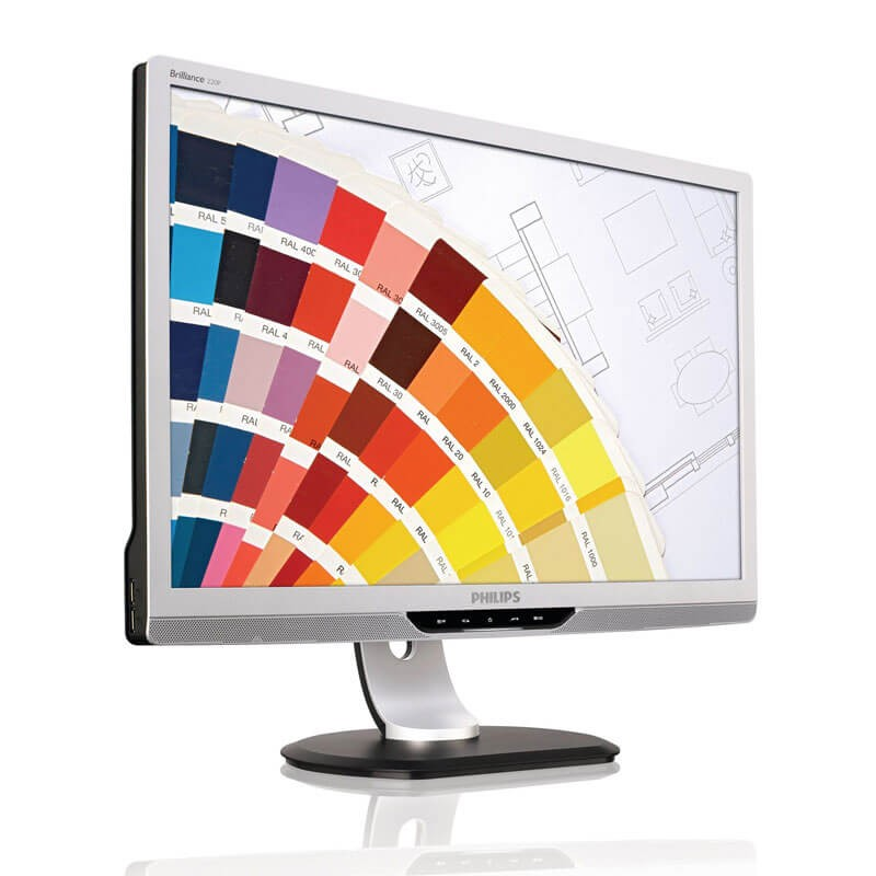 Monitor LCD Refurbished Philips Brilliance 220P2ES, 22 inch Widescreen