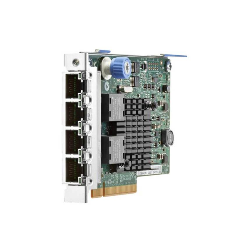 Placa de Retea Servere Refurbished HP 669280-001 Quad Port 10/100/1000Mbps