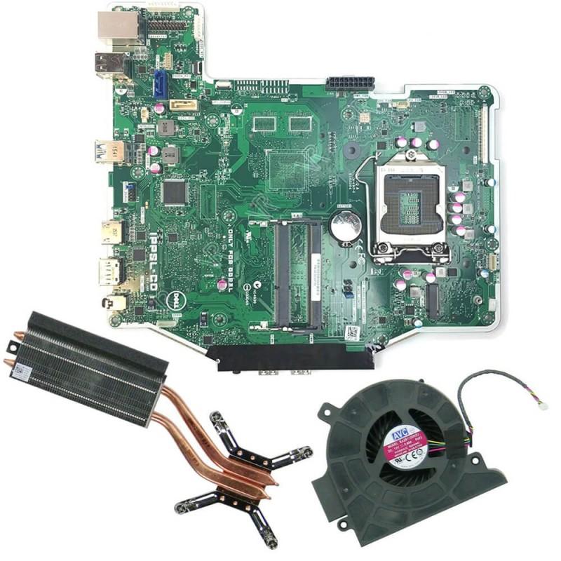 Placi de baza second hand AIO Dell OptiPlex 3240 + Radiator, Cooler