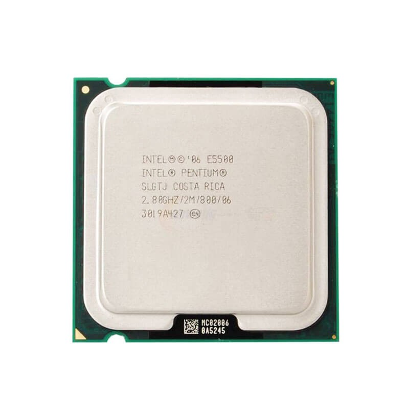 Procesoare Intel Pentium E5500, 2.80GHz, 2Mb Cache