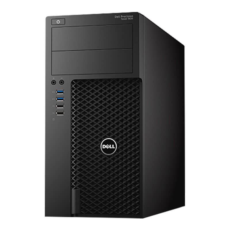 Statie grafica second hand Dell Precision 3620 MT, Quad Core i7-6700T, 512GB SSD, Quadro K2000