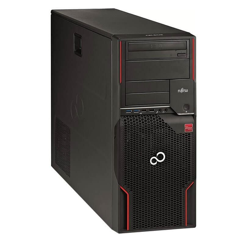 Statie grafica second hand Fujitsu CELSIUS W520, Xeon Quad Core E3-1230 v2, Quadro NVS 450