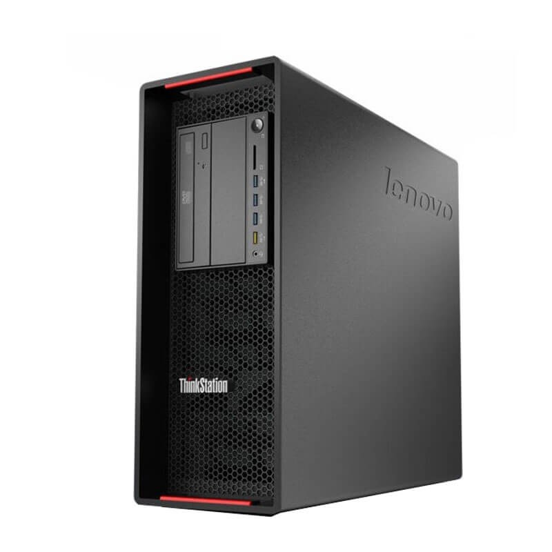 Statie grafica second hand Lenovo ThinkStation P500, Xeon E5-1620 v3, 24GB DDR4, Quadro K2200